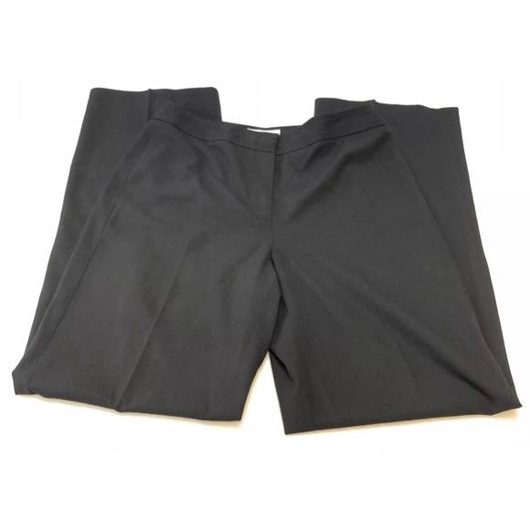 Talbots Pants - Talbots Women's black flat front dress pants sz 4
